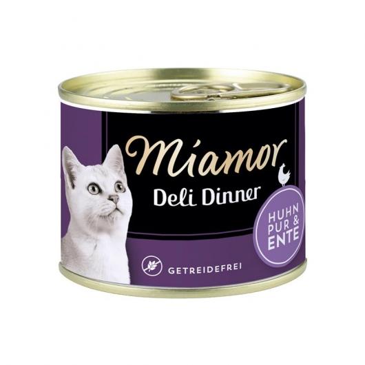 Miamor Deli Dinner Huhn Pur & Ente 175g Dose