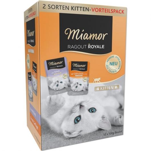 Miamor Ragout Royale Kitten Multibox Jelly 12x100g