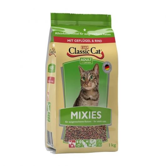 Classic Cat Mixies mit Geflügel und Rind 1kg