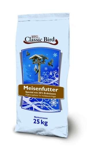 Classic Bird Meisenfutter SPEZIAL mit 30% Erdnüssen 25kg