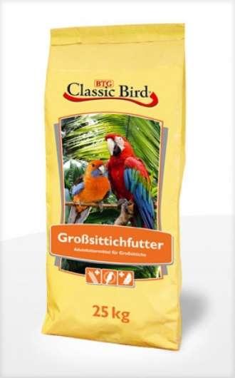 Classic Bird Großsittichfutter Hobby 25kg