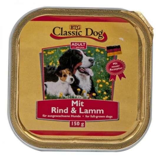Classic Dog Schale Rind & Lamm 150g