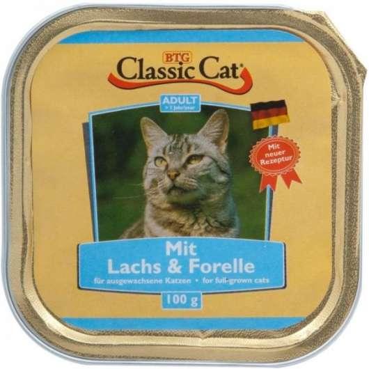 Classic Cat Schale Lachs & Forelle 100g