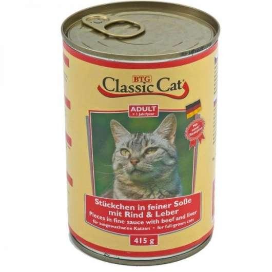 Classic Cat Dose Soße mit Rind & Leber 415g