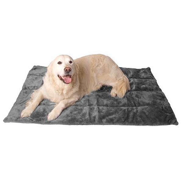 Hundedecke Carpet de Luxe - Grau 107 x 70 cm