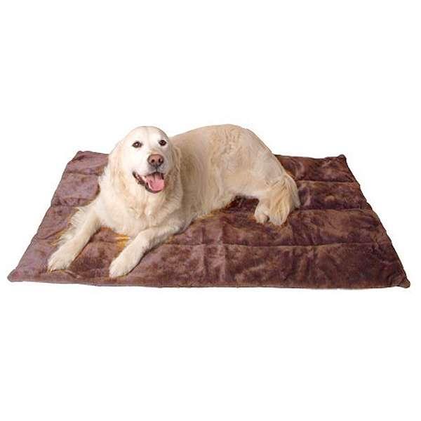 Hundedecke Carpet de Luxe - Braun 107 x 70 cm